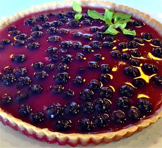 Blueberry Kanten Tart